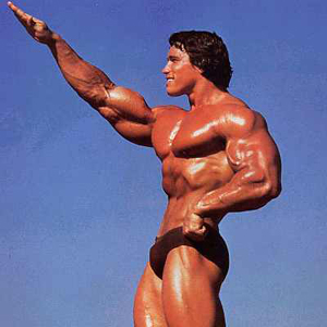 "Nice ""sieg heil,"" Arnie."