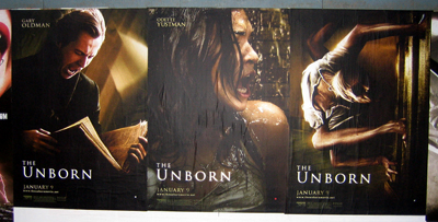 """The Unborn"" posters"