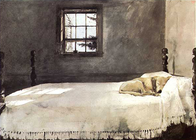 Andrew Wyeth, Master Bedroom, 1965