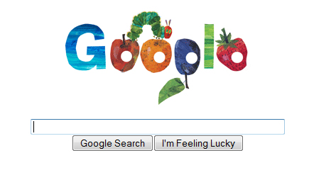 Google and Eric Carle's Very Hungry Caterpillar