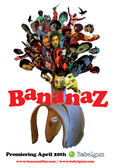 "Gorillaz documentary ""Bananaz"""