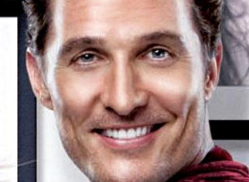 Matthew McConaughey's creepy eye!