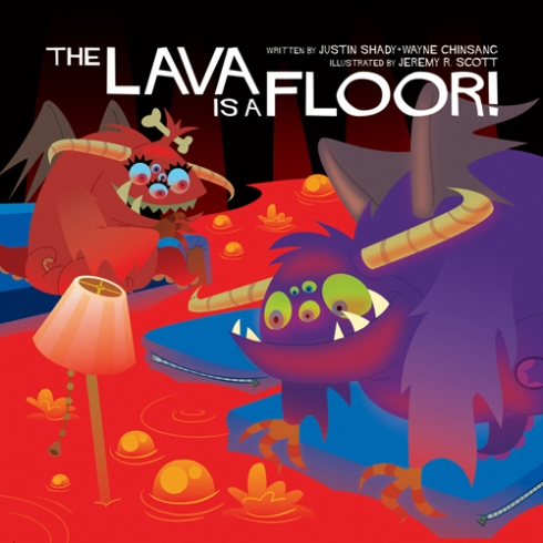 "Cover of ""The Lava is a Floor!"""