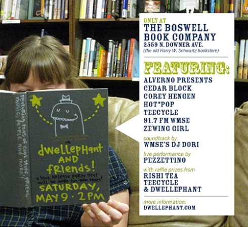 Dwellephant at Boswell Book Company
