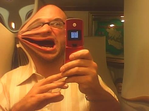 Finn McCool's bathroom mirror