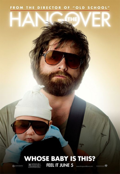 "Poster for ""The Hangover"""