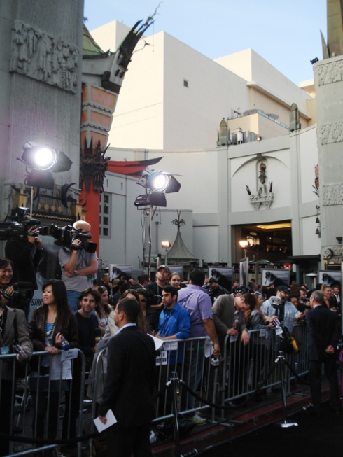 "Press at the ""Star Trek"" Premiere"