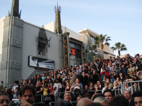 "Fans at the ""Star Trek"" Premiere"