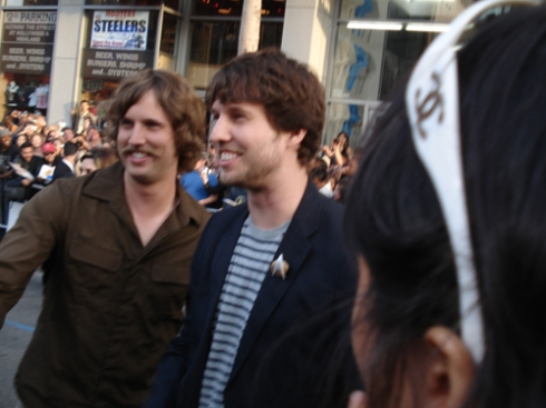 "Jon Heder at the ""Star Trek"" Premiere"