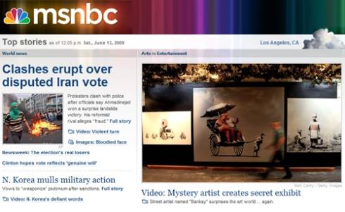 Banksy on MSNBC.com