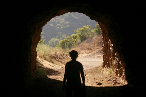 The Bronson Caves at Griffith Park