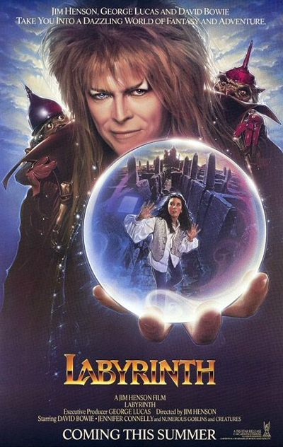 "Jim Henson's 1986 film ""Labyrinth"""