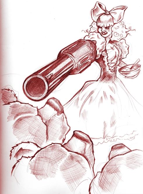 """Sketchbook: """"Invasion"""" by James Decker"""