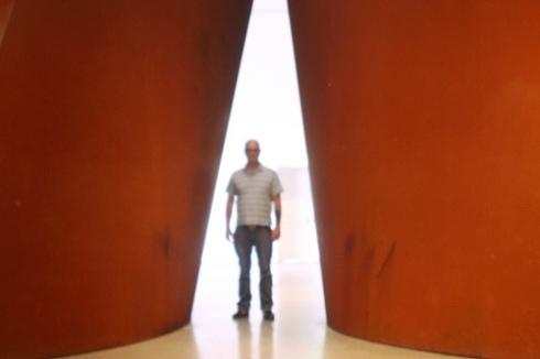 """Justin and Richard Serra's """"Band"""""""