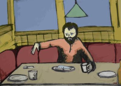 """Sketchbook: """"Dead Men Tell No Tales"""" by Ralph Apel"""