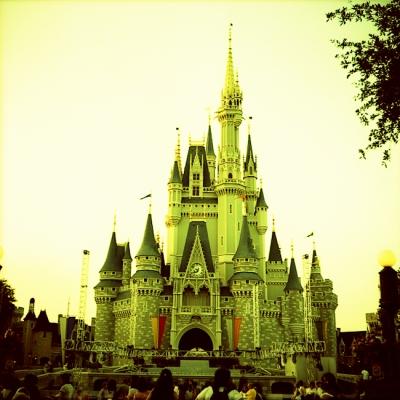 Creepy Disney World by Justin Shady