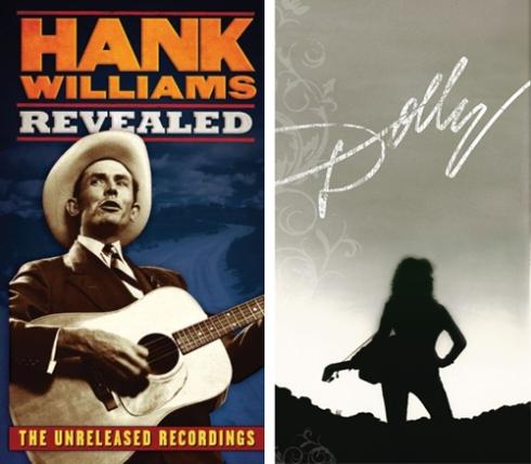 Hank Williams and Dolly Parton