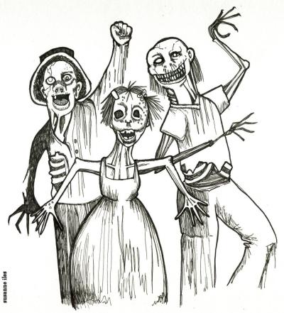 """Sketchbook: """"Devil's Night"""" by Susanne Iles"""