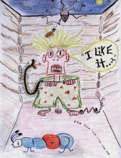 """Sketchbook: """"Devil's Night"""" by Jenea Kaitaz"""