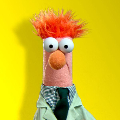 "Beaker from ""The Muppet Show"""