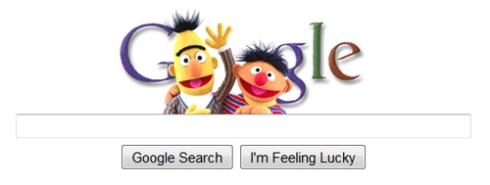 """Sesame Street"" on Google"