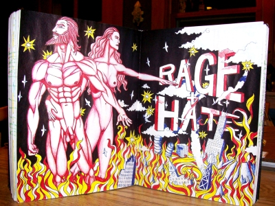 Rage + Hate by Drew Linne