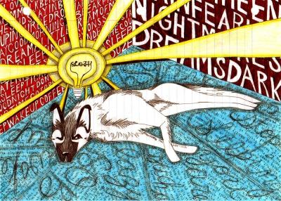 """Sketchbook: """"Sloth"""" by Drew Linne"""