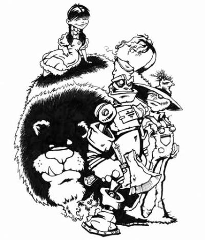 "Sketchbook: ""Oz"" by James Decker"