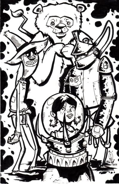"Sketchbook: ""Oz"" by Bill Hewitt"