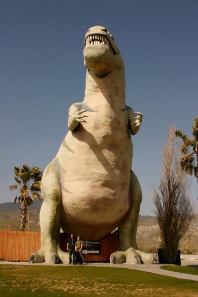 The dinosaurs of Cabazon, California