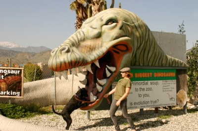 The dinosaurs of Cabazon, California