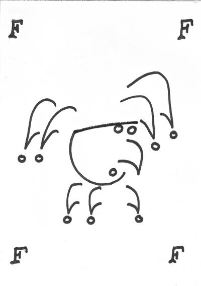 """Sketchbook: """"Fool"""" by Jorge Garcia"""
