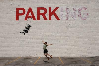 Banksy in downtown Los Angeles