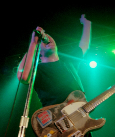 Joe Strummer at the Newport Music Hall in Columbus, Ohio