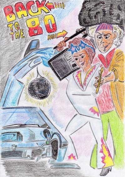 """Sketchbook: """"Eighties"""" by Jenea Kaitaz"""