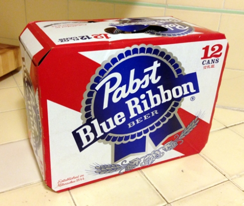Liquor of the Month: December = PBR!