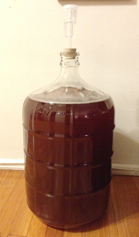 SECONDARY FERMENTATION HAS BEGUN!