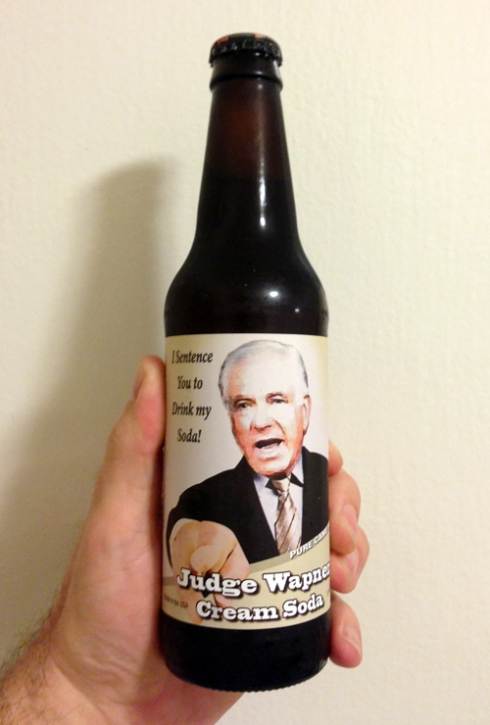 Judge Wapner's Cream Soda!