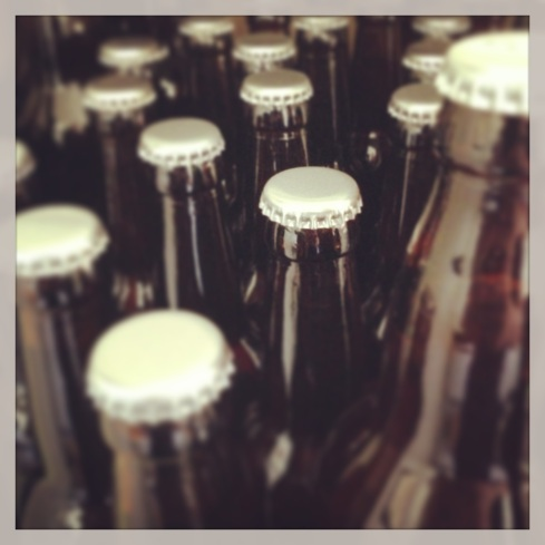 Beer... bottled!