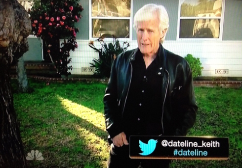 Keith Morrison's Twitter-shaped dong.