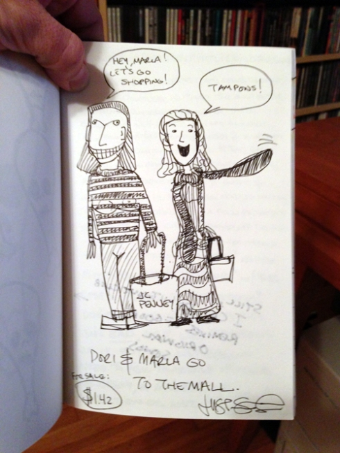 """Dori & Marla Go To The Mall"" by Justin Shady, © 2005 or 2006."