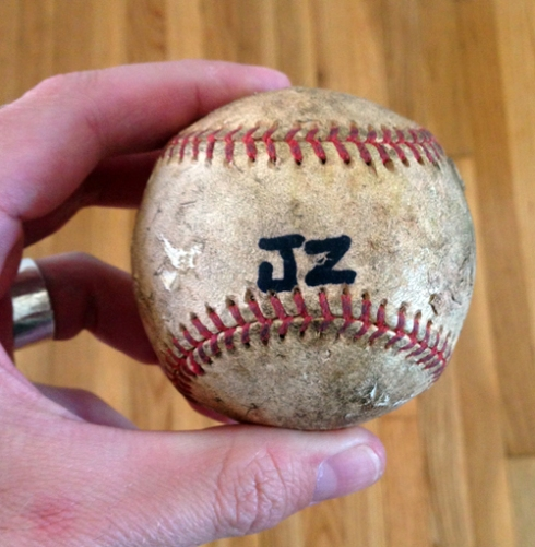 FOUND: Jay-Z's baseball.