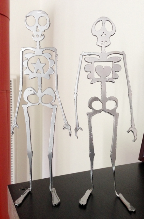 Skeletons from Becky and Ben!
