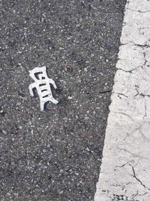 Street art. Literally.