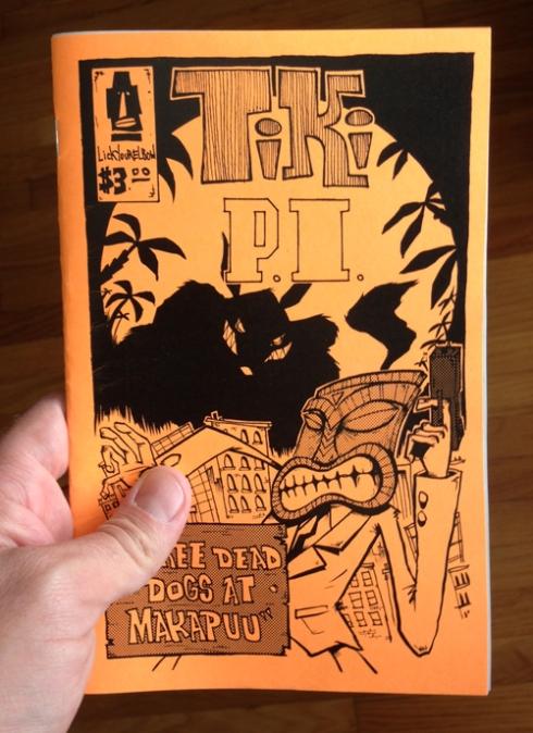 """Bill Hewitt's """"Tiki P.I."""""""