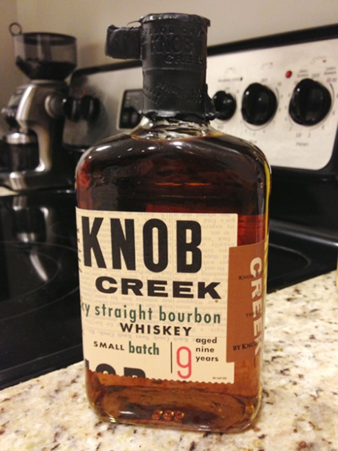Liquor of the Month: June = Knob Creek!