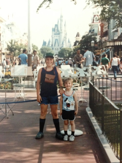 John & Justin: Disney World, May 1981