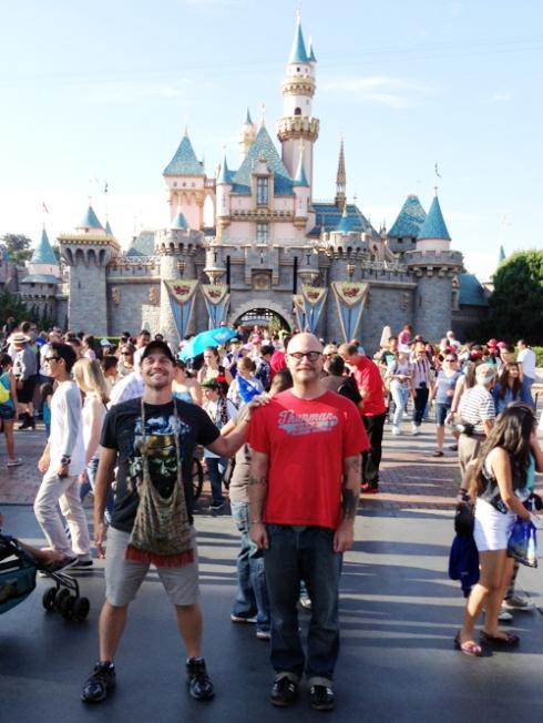 John & Justin: Disneyland, July 2013