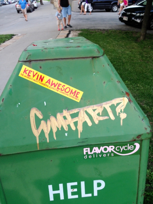 KEVIN AWESOME! CUMFART? FLAVOR CYCLE DELIVERS. HELP.