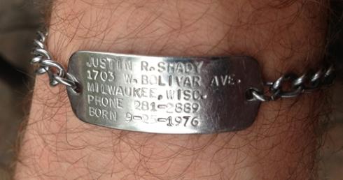 Not a medical bracelet...
